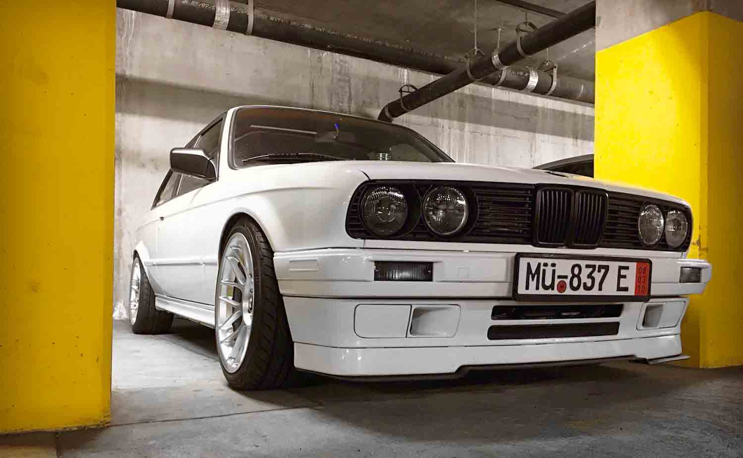 apex BMW e30 arc8 wheels fitment